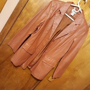 Woman's Genuine Leather Jacket  SZ  M